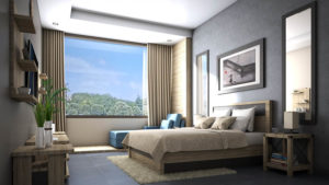 Grey Bedroom Ideas with Oak Furniture