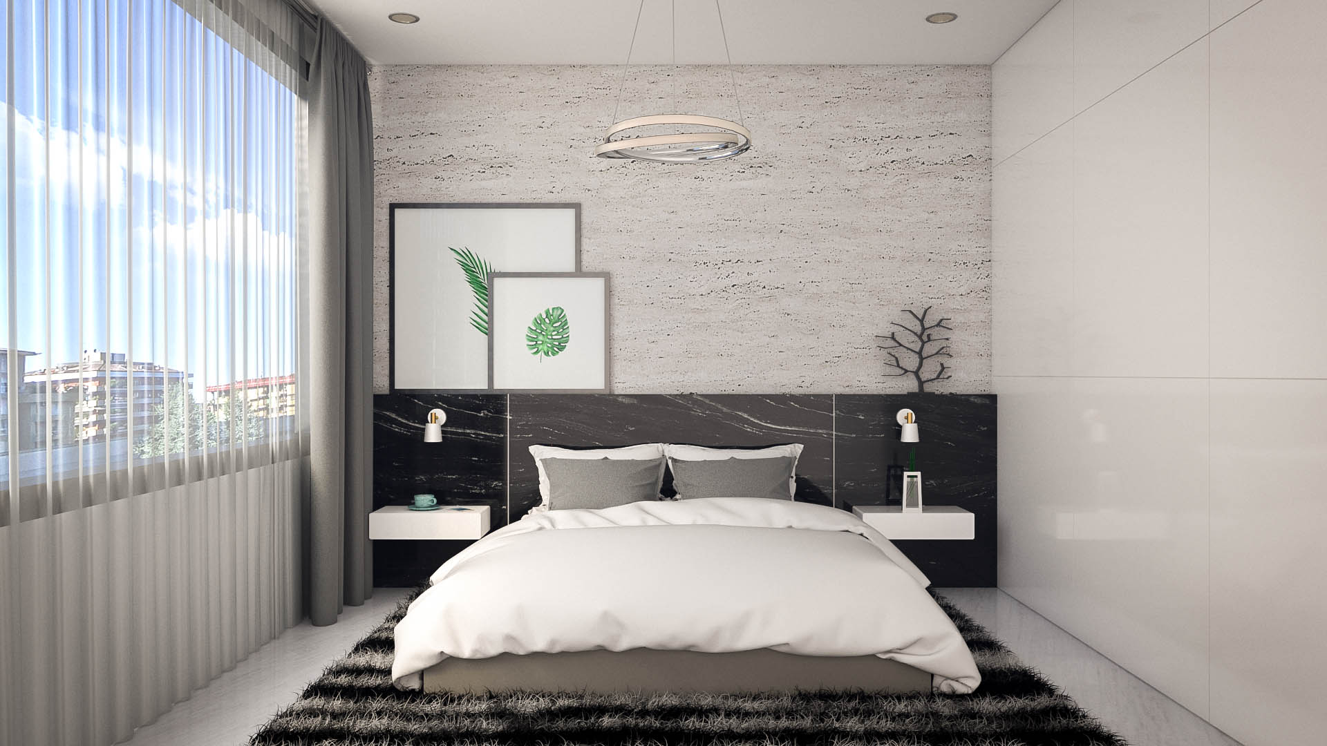 Small Modern Bedroom Design Ideas - roomdsign.com on Minimalist Modern Simple Bedroom Design  id=71785