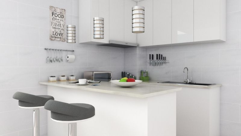 Small Simple Kitchen Design