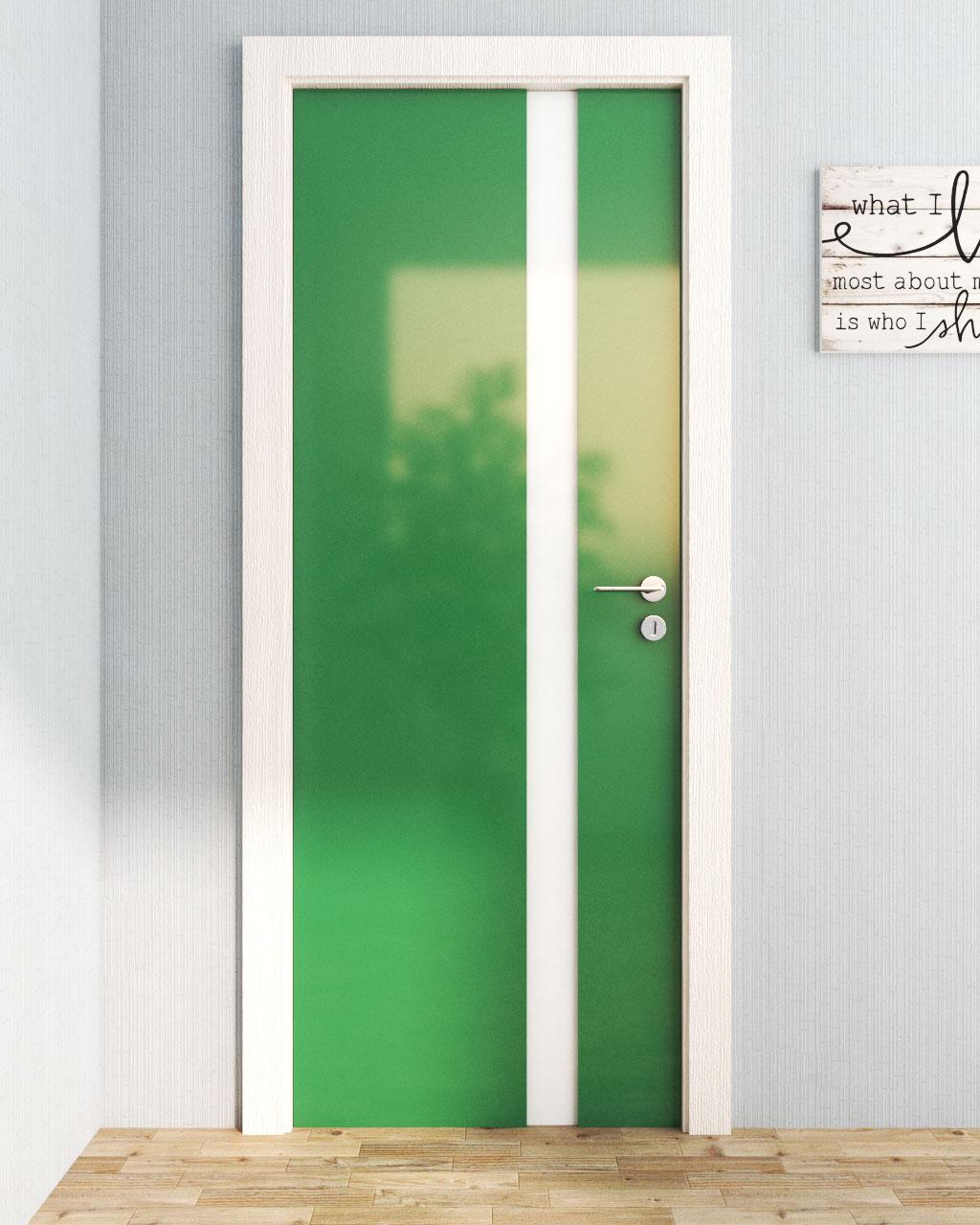 Minimalist Door Using HPL
