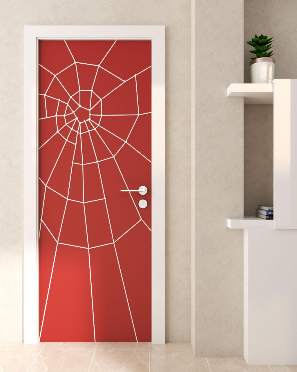 Spiderman Door Design