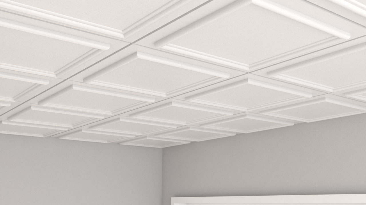 Decorative Acoustic Ceiling Tilles