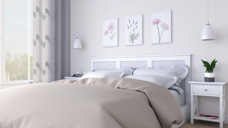 Beautiful Beige Bedroom Decor for Women's Bedroom