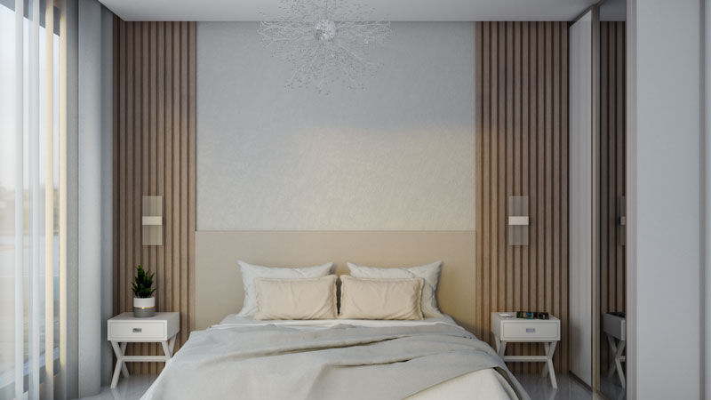 Minimalist Modern Small Bedroom Interior Design