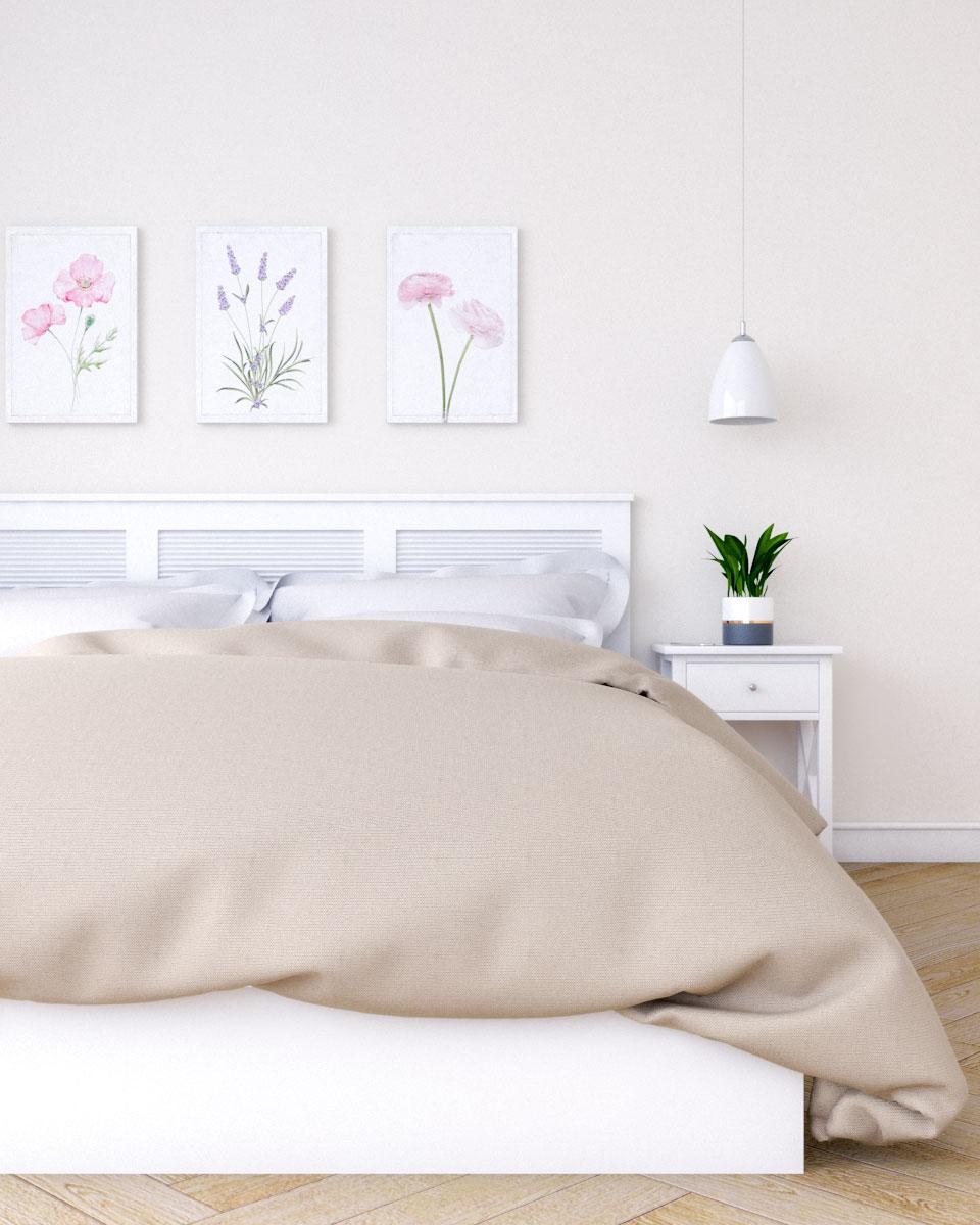 Beautiful Beige Bedroom Decor for Women's Bedroom