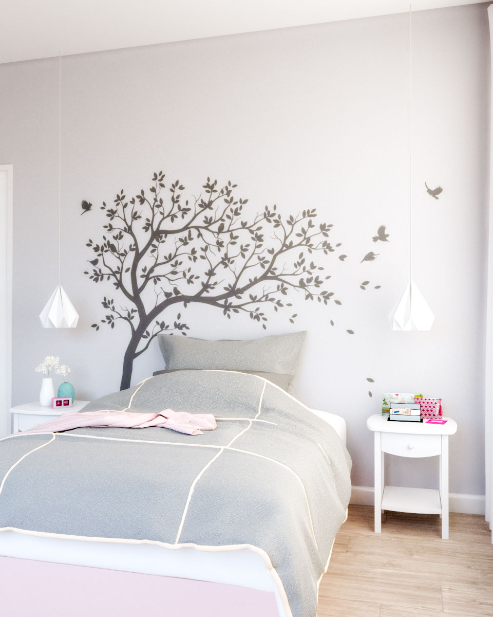 Girls nursery bedroom ideas