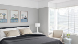 Vintage Classic Gray Bedroom Design