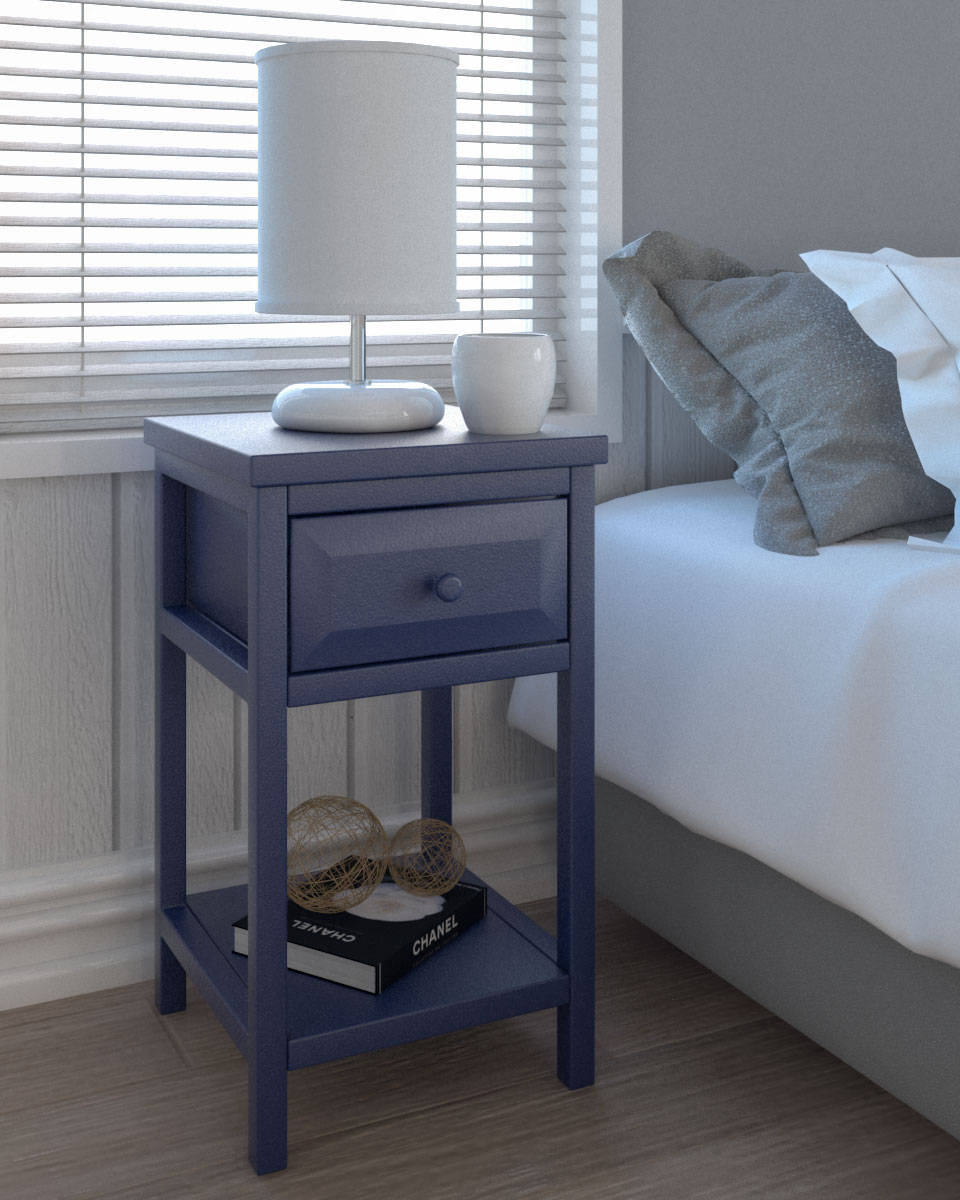 15 Best Nightstand for Small Spaces | Best Nightstand for Small Bedroom