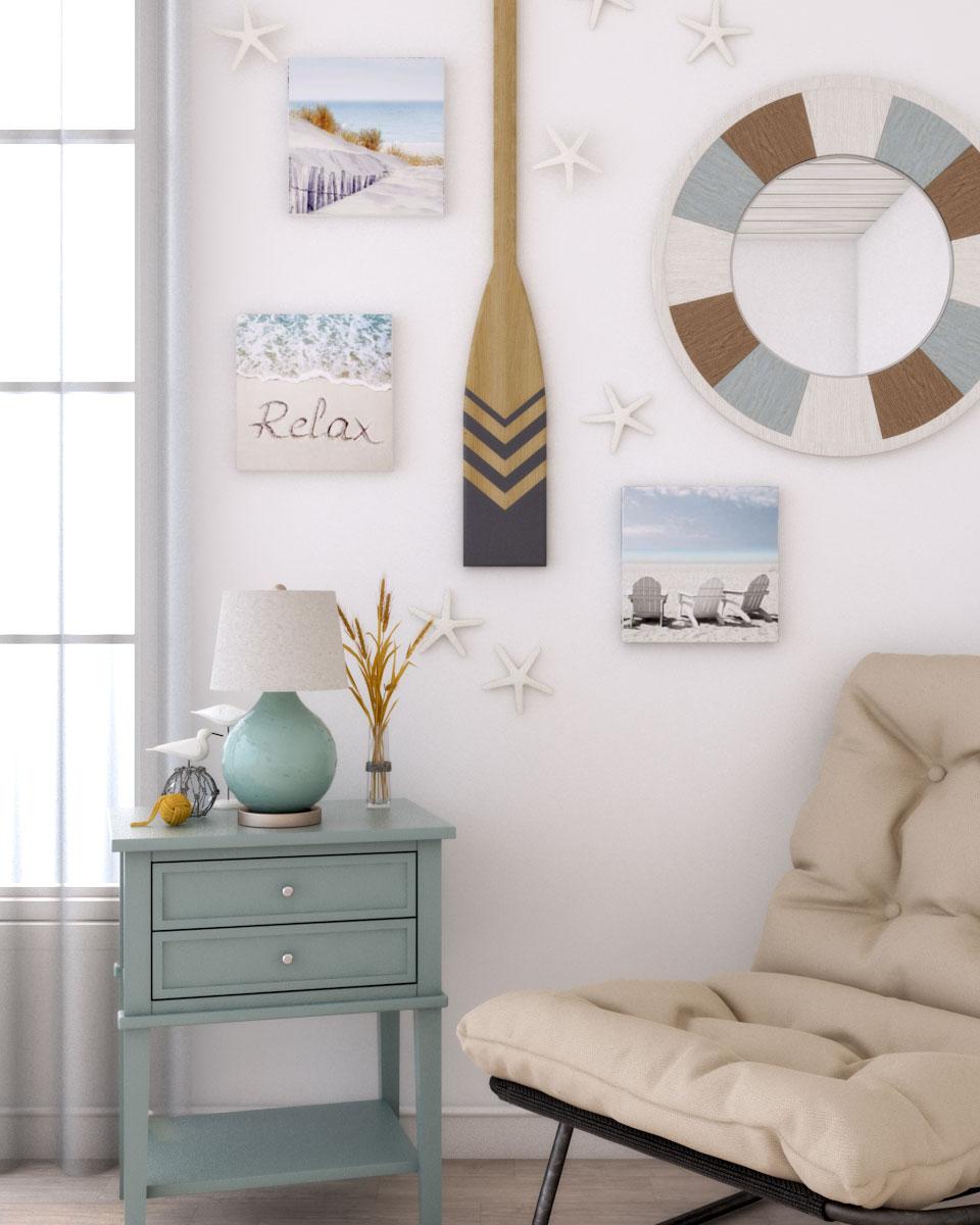 Beautiful beach style wall decor ideas