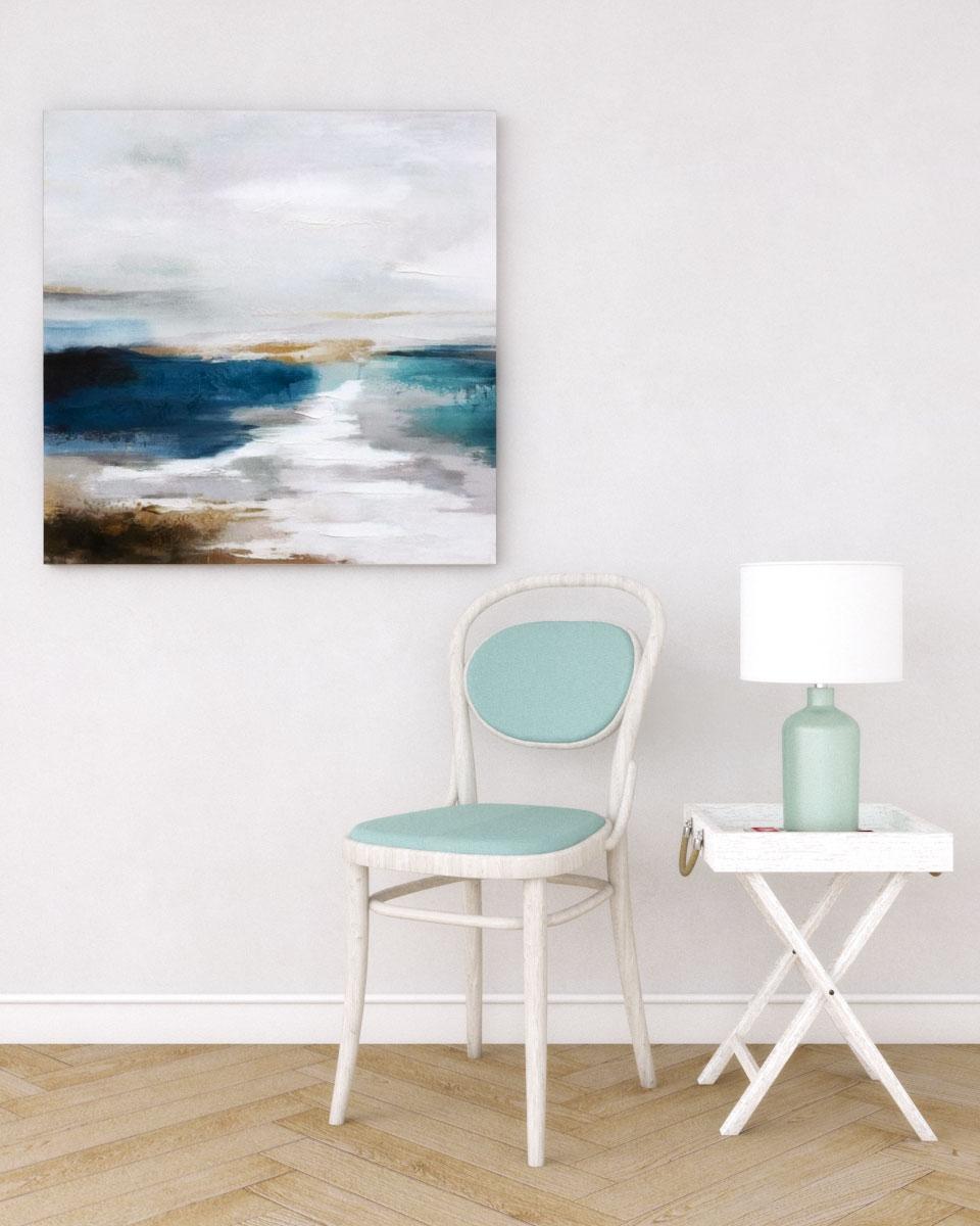 Simple vintage coastal decor ideas