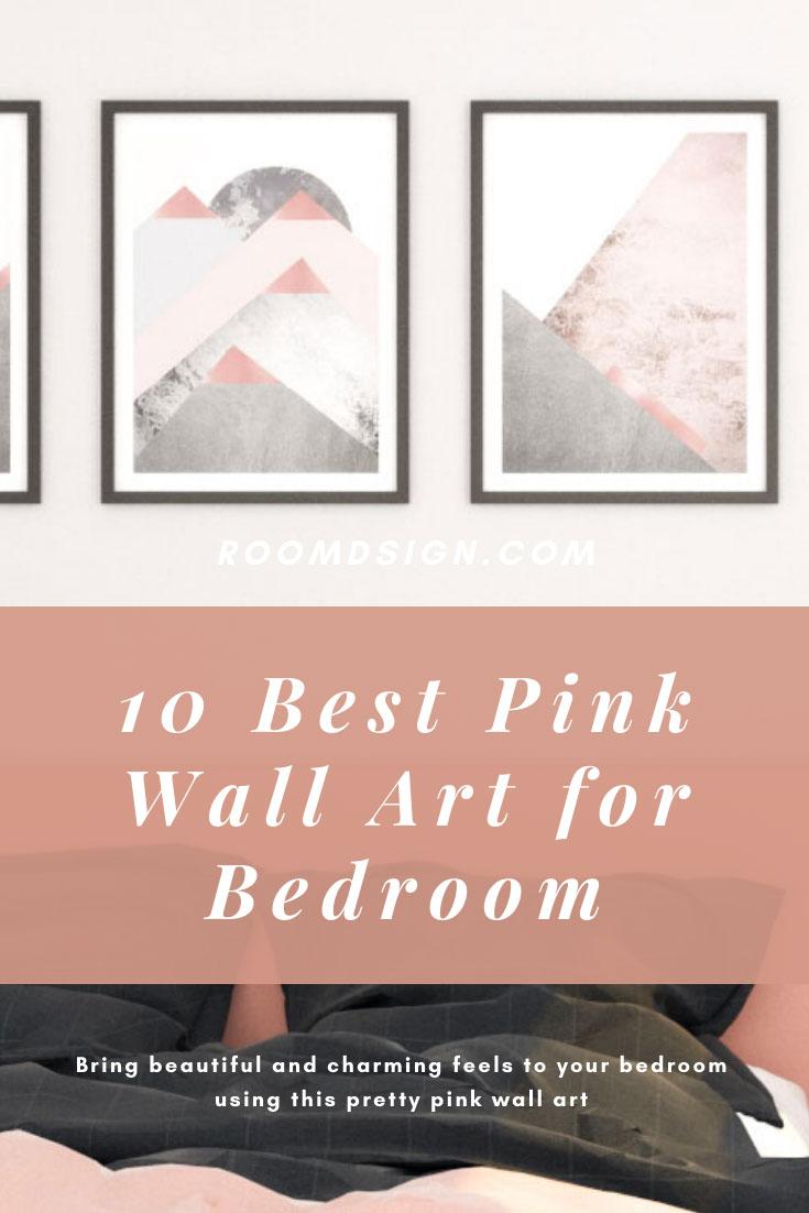 10 Best pink wall art for bedroom