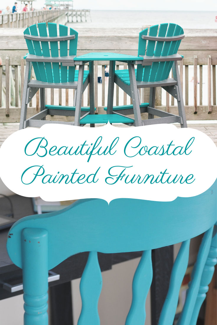 beautiful coastal painted furniture