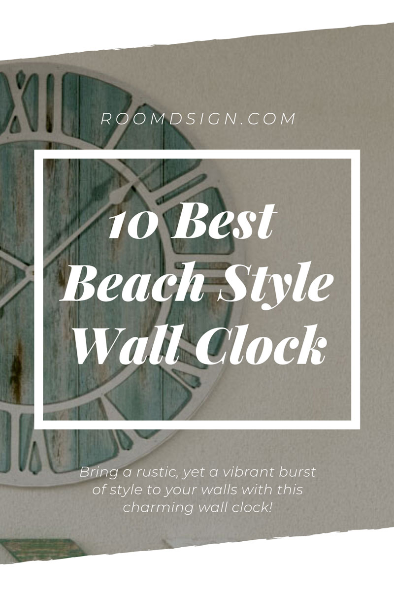 best coastal style wall clock