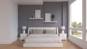 10 Elegant Dark Gray Accent Wall Ideas for Bedroom and Living Room