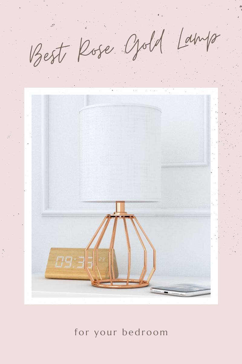 Best rose gold lighting for bedroom