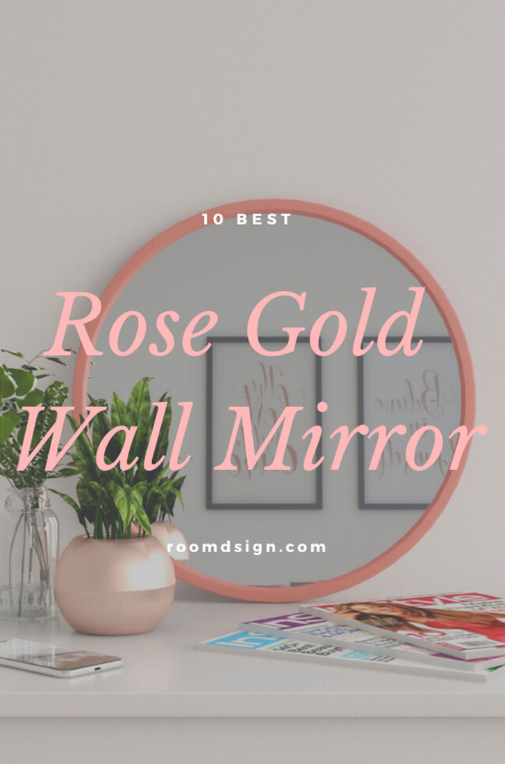 10 best rose gold wall mirror