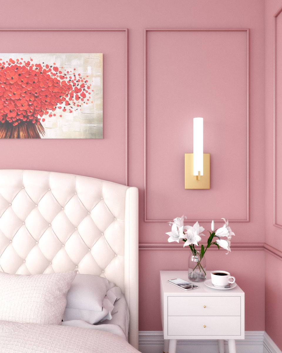 Classic pink wall decor ideas