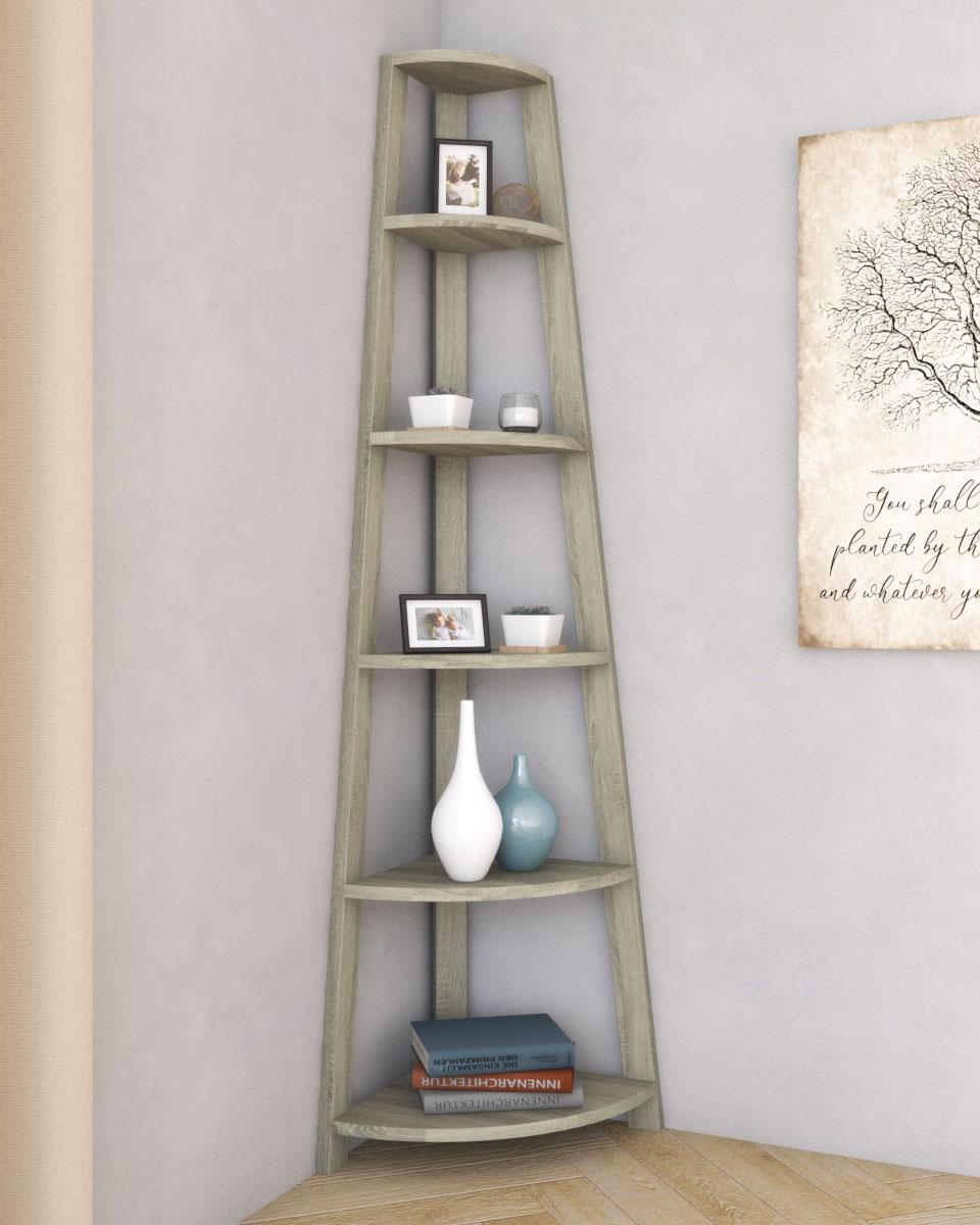 10 Rustic Corner Shelf Ideas Roomdsign Com