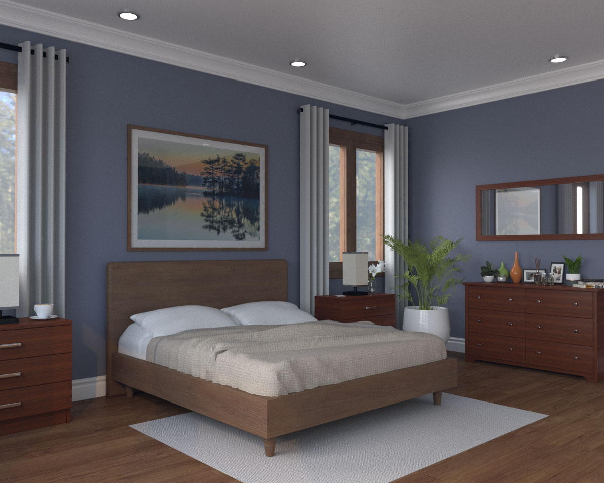 7 Best Wall Paint Colors For Bedroom With Dark Furniture With Images Roomdsign Com