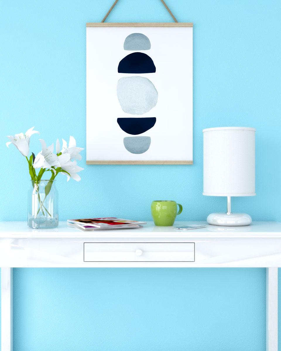Room Design Com: 7 Best Pastel Blue Wallpaper
