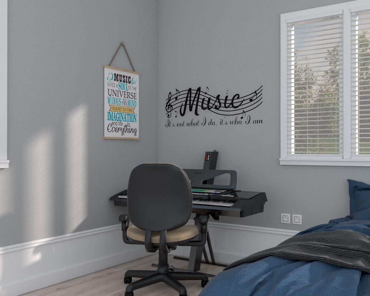 Bedroom concert corner ideas
