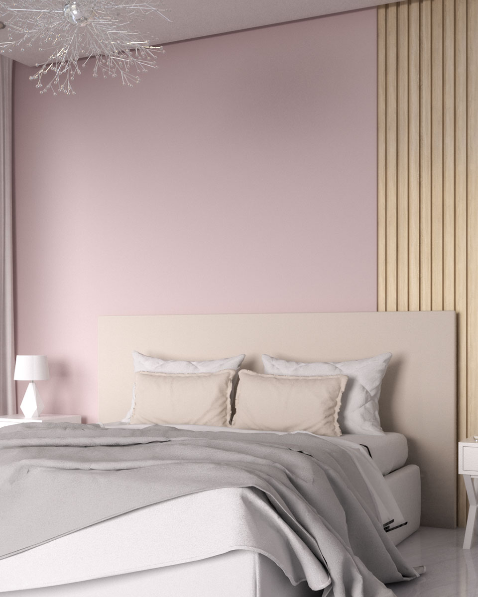 10 Gorgeous Pink Accent Wall Ideas for Bedroom and Living Room