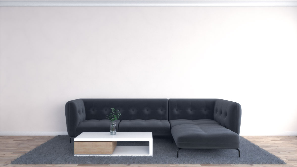 Decorate a large wall in living room