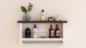10 Best Farmhouse Floating Shelves for Bathroom