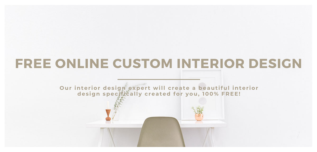 Free online custom interior design