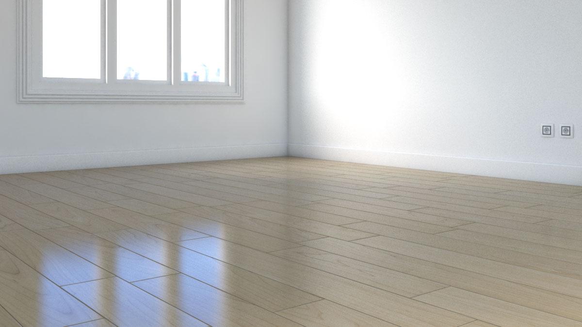 Make wood floor look like new