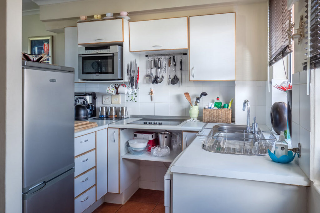 Small organized kitchen