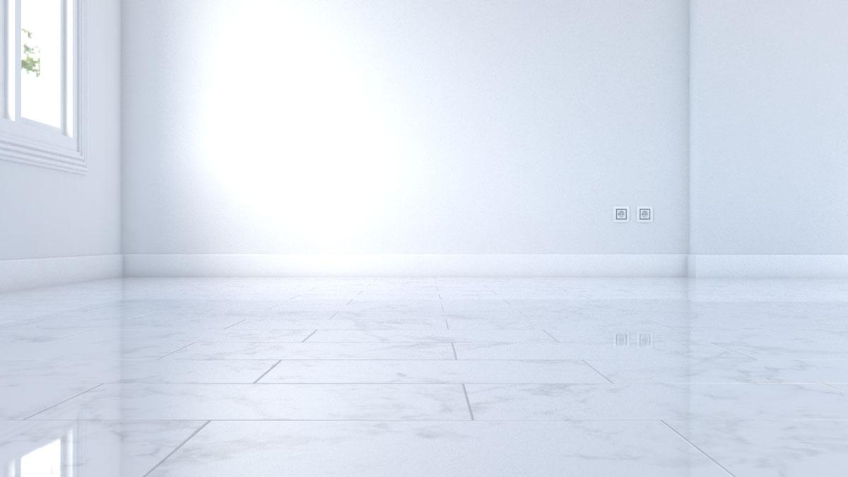 Shine white marble tiles