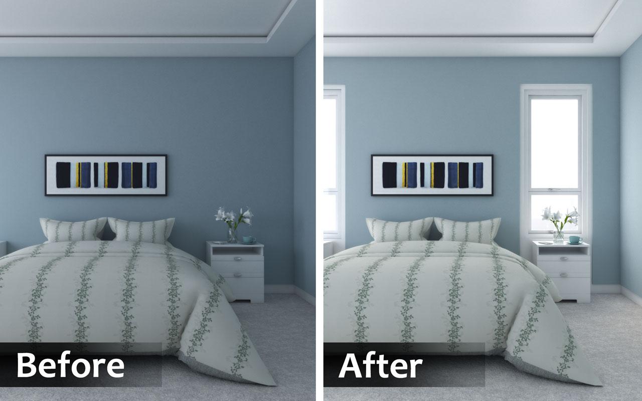 Adding windows to existing bedroom