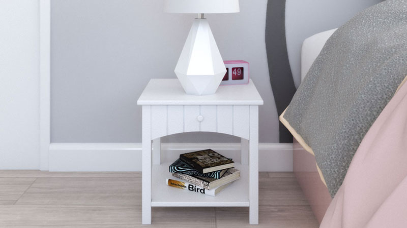 Best Nightstand for Nursery Bedroom Decor