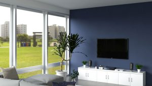 10 Elegant Dark Blue Accent Wall Ideas