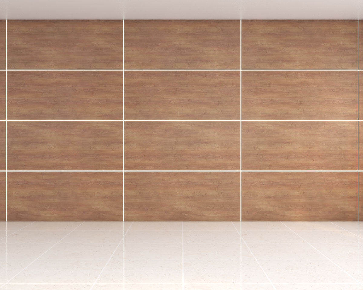 Modern rectangle shape wood panel