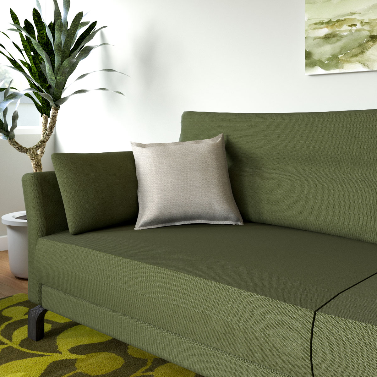 What Color Throw Pillows For Olive Green Couch Roomdsign Com