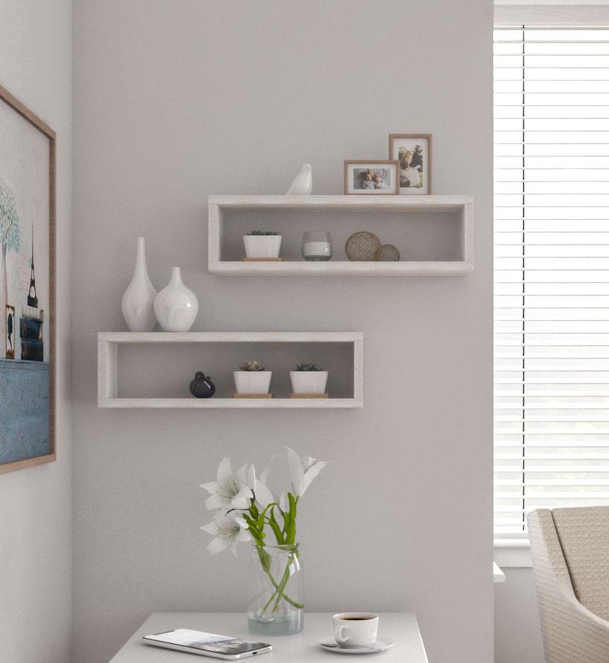 Best farmhouse floating shelves
