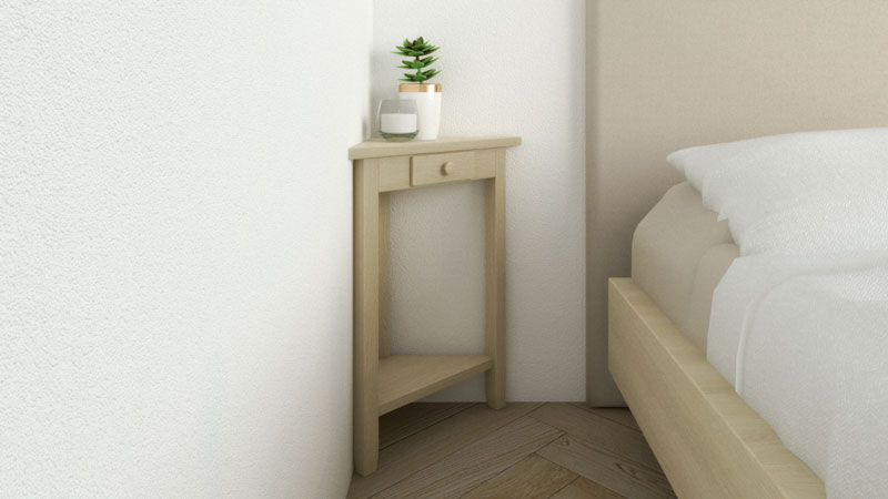 9 Best Corner Nightstand Table