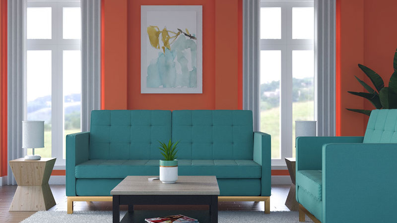 12 Best Wall Color for Teal Furniture