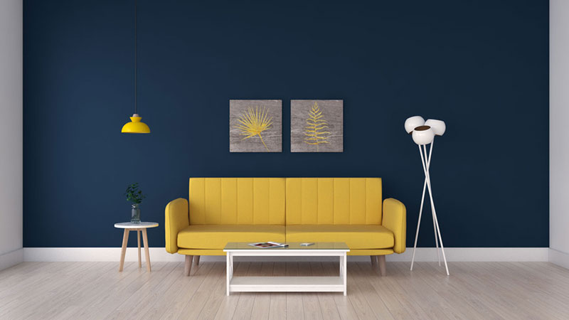 8 Best Wall Paint Color for Yellow Couch