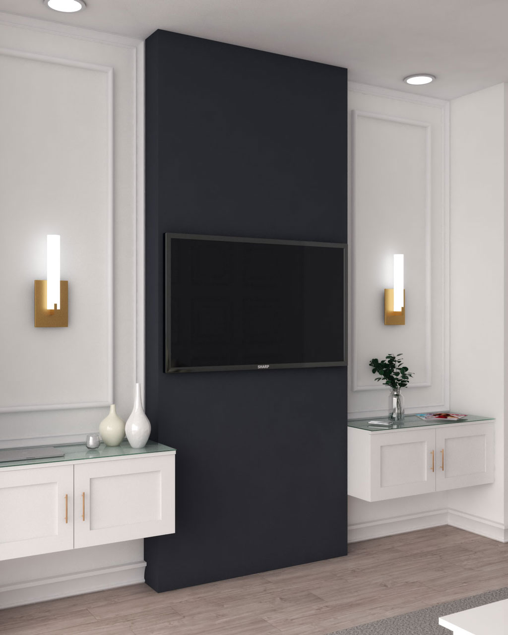 10 Gorgeous Accent Wall Ideas Behind Tv For Your Living Room Roomdsign Com