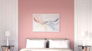 10 Beautiful and Chic Pink Wall Art