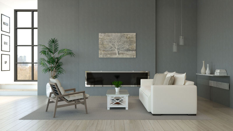 What Color Furniture Goes with Gray Walls?