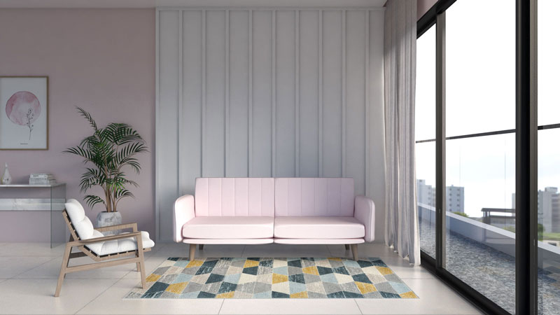 7 Best Rug Color for Pink Couch (Based on Our Experiment)