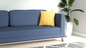 What Color Throw Pillows for a Blue Couch?