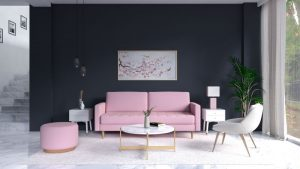 7 Best Wall Paint Color that Goes with Pink Couch
