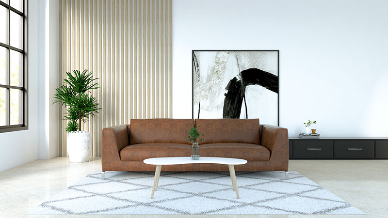 10 Best Coffee Table For Brown Leather Couch