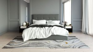10 Best Rug Color for Gray Bedroom (with Pictures)