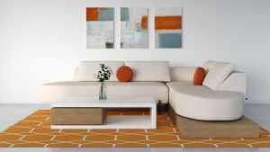8 Best Orange Decor for Living Room Ideas (With Images)